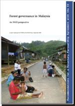 Forest governance in malaysia