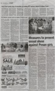 Panan issue 26-09-2009 Borneopost
