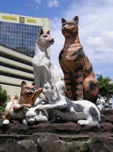 kutching-cat-statue