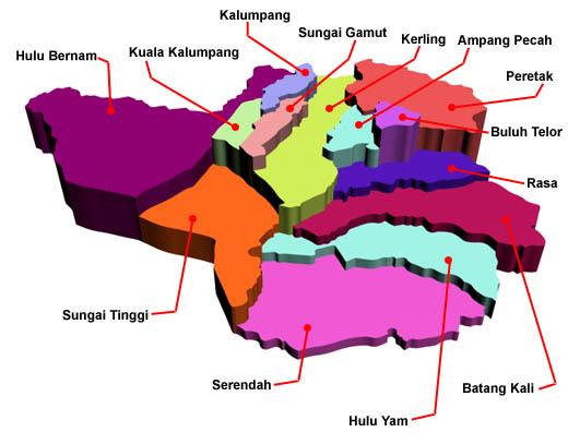 map_mukim hulu selangor