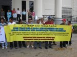 Taib's Brute Land Grab - BN PBB Members and Supporters not Spared